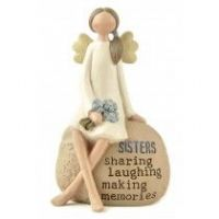 Heaven Sends - Angel Ornament - Sisters